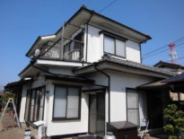 千葉県千葉市中央区のH様邸(木造住宅)|外壁・付帯部の塗装工事 施工事例