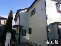 千葉県千葉市花見川区のK様邸(木造住宅)|外壁・付帯部の塗装工事 施工事例