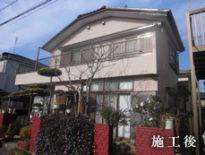 千葉県臼井市のS様邸(木造住宅)|外壁・付帯部の塗装工事 施工事例