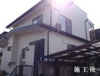 千葉県習志野市のT様邸(木造住宅)|外壁・付帯部の塗装工事 施工事例
