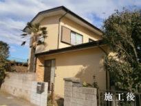 千葉県千葉市花見川区のT様邸(木造住宅)|外壁・付帯部の塗装工事 施工事例