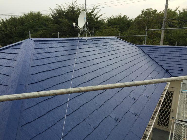 千葉県千葉市のお客様(木造住宅)|屋根の塗装工事 施工事例