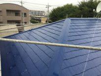 千葉県千葉市のお客様(木造住宅) 屋根の塗装工事 施工事例