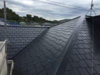 千葉県富津市のお客様(木造住宅) 屋根の塗装工事 施工事例