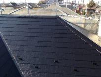 千葉県習志野市のお客様(木造住宅) 屋根の塗装工事 施工事例