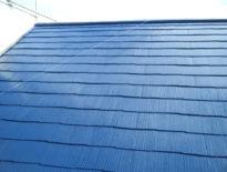 千葉県佐倉市のお客様(木造住宅) 屋根の塗装工事 施工事例