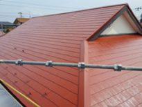 千葉県千葉市花見川区のA様邸(木造住宅)|屋根の塗装工事 施工事例