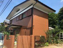 千葉県鎌ケ谷市のW様邸(木造住宅)|外壁・屋根・付帯部の塗装工事 施工事例