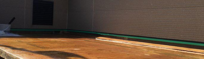 FRP(繊維強化プラスチック)の防水工事を行っております|千葉県八千代市のK様邸