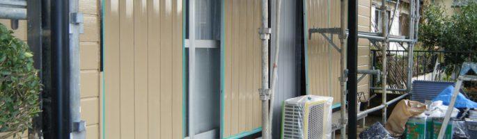 雨戸の修理(塗装工事)を行いました|千葉県八街市のI様邸にて