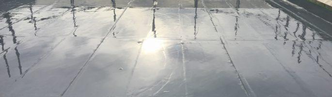 雨漏りが原因の屋上防水工事|千葉県習志野市のG様邸