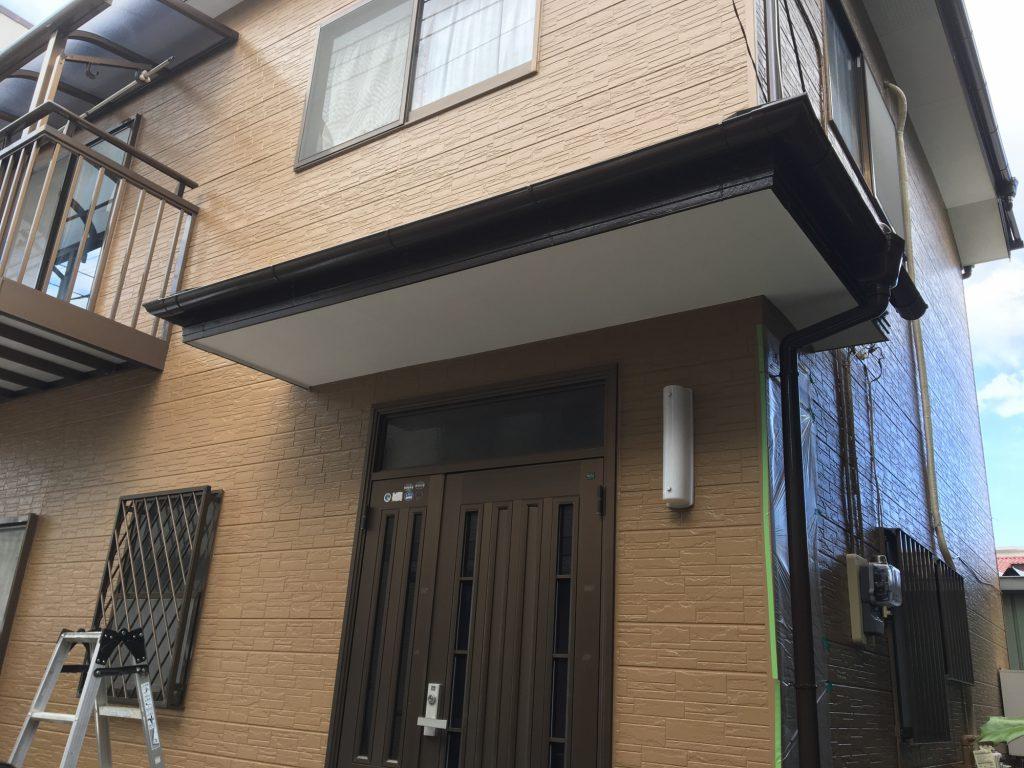 軒天の外壁塗装