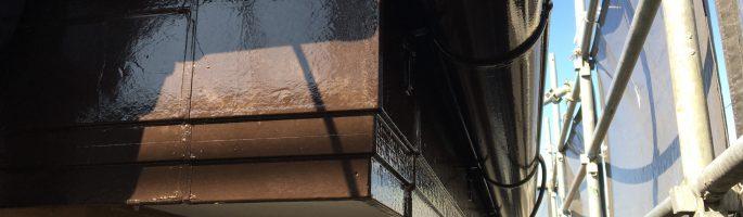 付帯部(雨どい)の塗装を行いました|千葉県船橋市のI様邸