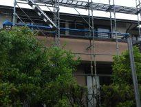千葉県佐倉市のお客様(木造一戸建て) 足場・仮設工事 施工事例
