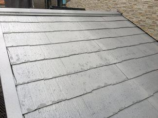千葉県船橋市のM様邸(木造2階建て)|スレート屋根の塗装工事の施工例
