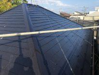 コロニアル屋根の塗装工事|千葉県のE様邸