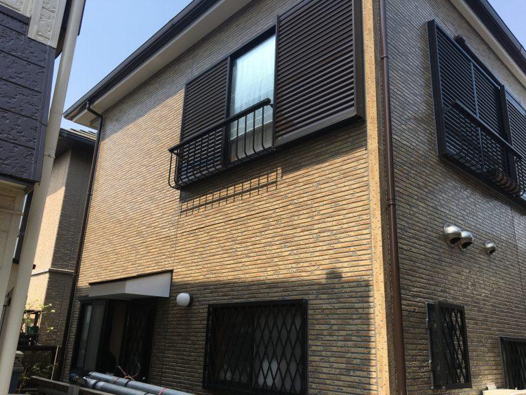 外壁の塗装工事(クリア塗装)|千葉県にお住いのE様邸