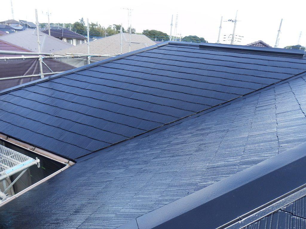 屋根の塗り替え完了