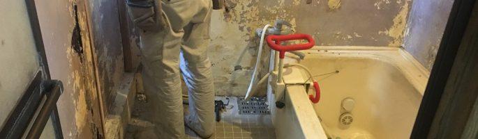 浴室(風呂)のバリアフリーリフォーム|千葉県浦安市・G様邸にて内装リフォーム