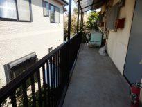 鉄部の塗装工事|千葉県八千代市の某集合住宅にて塗り替えリフォーム