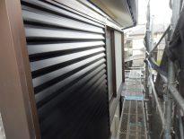 鉄部(シャッター)の塗装工事|千葉県習志野市新津田沼のS様邸にて塗り替えリフォーム