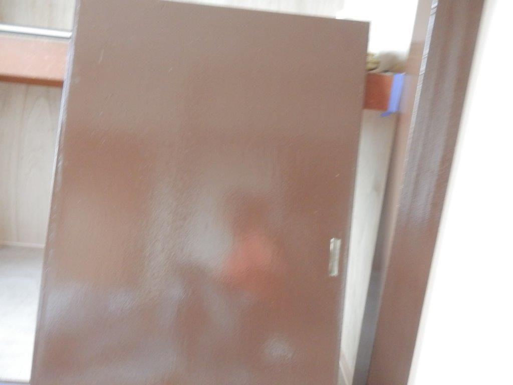 ドア(木部)の内装塗装