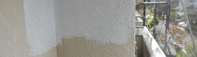 外壁の下塗り(シーラー塗布) 千葉県八千代市のS様邸にて塗り替えリフォーム中