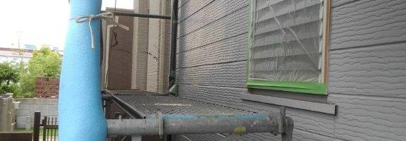 外壁の塗装工事が完了 茨城県神栖市のH様邸にて塗り替えリフォーム中