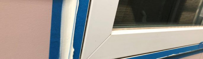 劣化したシーリングの補修工事|千葉県船橋市のF様邸にて塗り替えリフォーム中