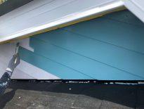 外壁の塗装工事(中塗り)|千葉県船橋市のF様邸にて塗り替えリフォーム中
