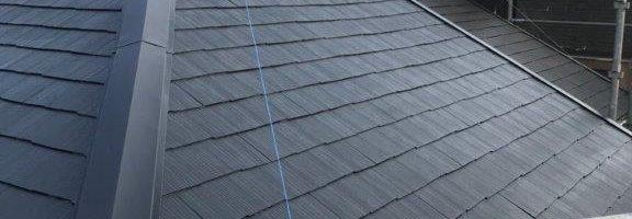 屋根の塗装工事|千葉県船橋市のF様邸にて塗り替えリフォーム中