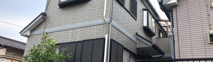 屋根・外壁の塗装工事のお見積り|千葉県習志野市の木造2階建てのお住いにて現場調査