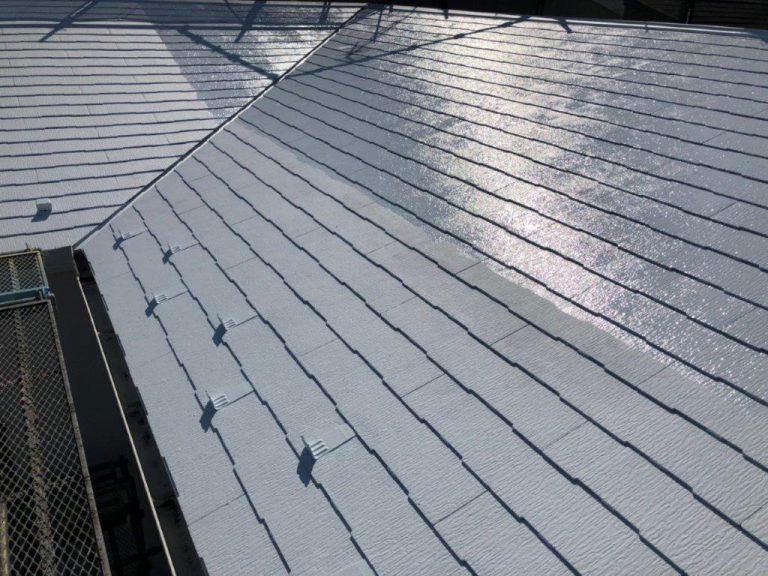屋根の断熱塗装工事|千葉県船橋市坪井東のT様邸にて塗り替えリフォーム