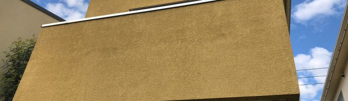 千葉県船橋市のお客様宅にて外壁塗装前の現場調査・お見積り