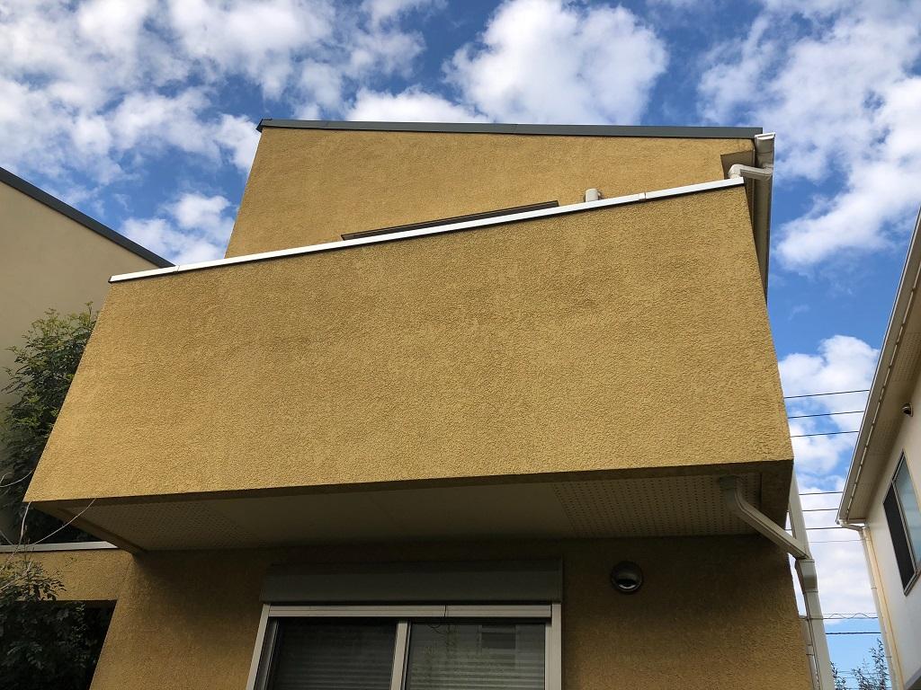 外壁の現場調査