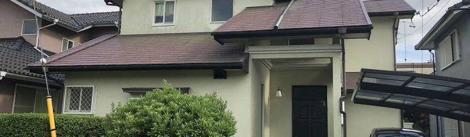 千葉県印西市のM様邸にて外壁塗装・屋根塗装の現場調査・お見積り