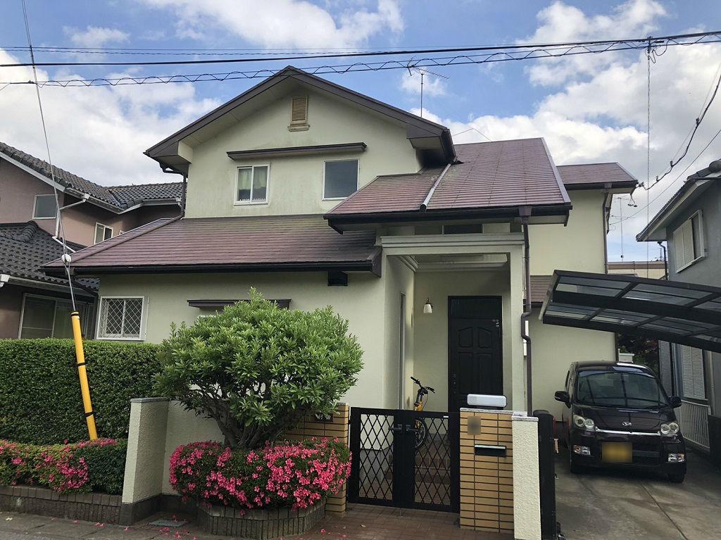 外壁・屋根塗装の現場調査