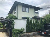 千葉県白井市のY様邸にて外壁塗装・屋根塗装の現場調査・お見積り