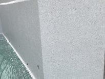 千葉県袖ヶ浦市のT様邸にて囲いの外壁の塗装工事