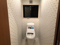 トイレの便器交換と床のクッションフロア貼り替え工事|千葉市美浜区にお住いのI様邸にて内装リフォーム