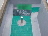通気緩衝シート張り付け・脱気筒の設置完了 東京都文京区のSビルにて大規模修繕工事