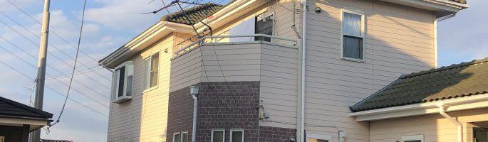 千葉市のT様邸にて外壁塗装に伴う現場調査