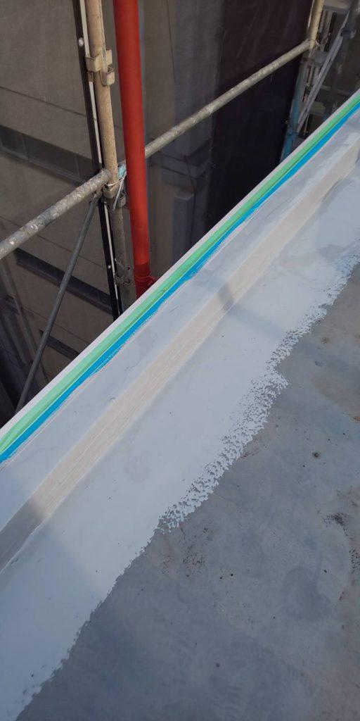 ウレタン樹脂 立ち上がり 1層目塗装