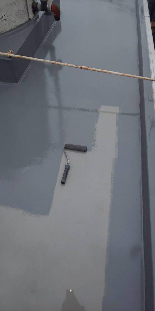 トップコート 平面部 2層目塗装トップコート 平面部 2層目塗装
