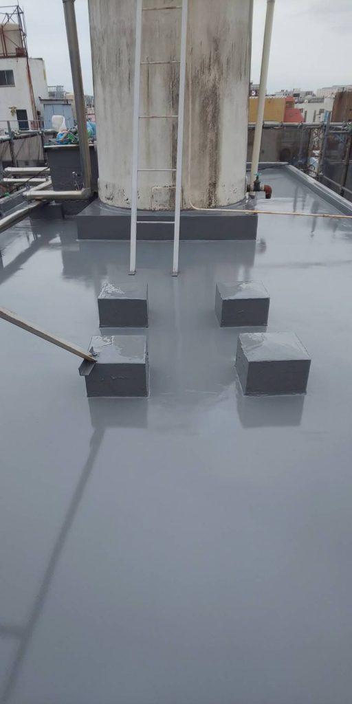 屋上防水 完工