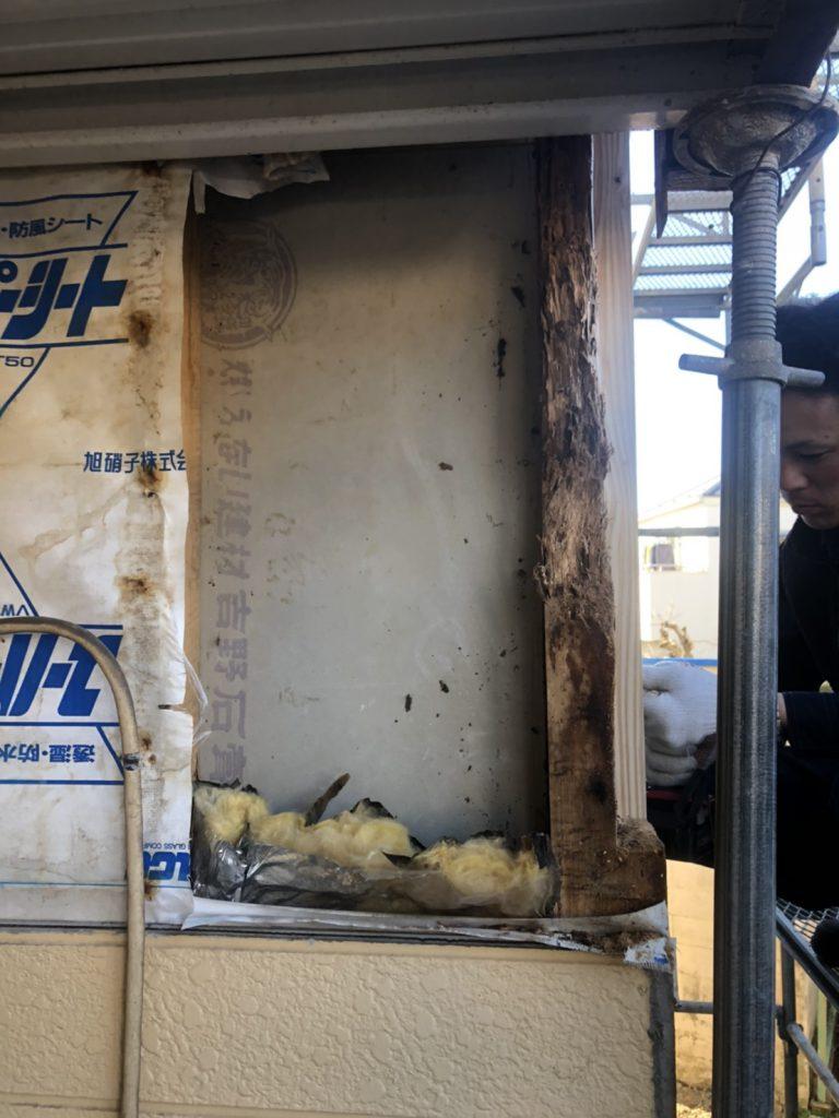 外壁の部分補修