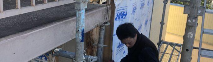 外壁の部分補修工事|千葉県佐倉市のB様邸にて外装リフォーム