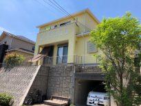 黄色の外壁で明るい雰囲気のお住いに|千葉県成田市のK様邸にて外壁の塗り替え塗装