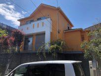 暖かみのあるオレンジカラーの外壁へ|千葉県成田市のN様邸にて外壁の塗り替え塗装