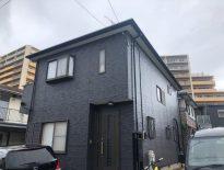 サイディング外壁をブラックカラーの塗装でお洒落な雰囲気に|千葉県習志野市のS様邸にて塗り替えリフォーム